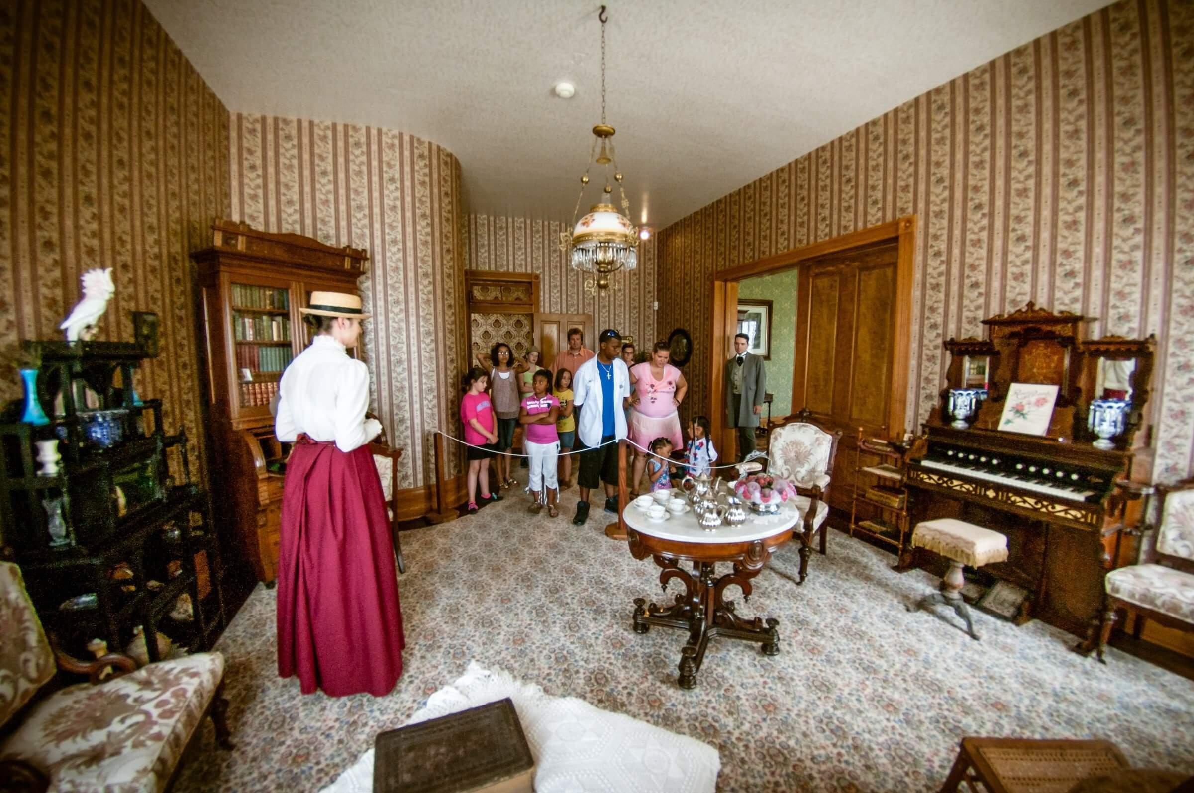 1890s Davis Victorian Mansion Site