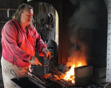 Hammering Through History Forge Welding Demonstration On Nov 28 George Ranch Historical Park